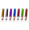 Pens set vector