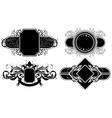 Set of ornamental elements vector