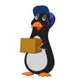 A cartoon penguin vector