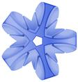 A blue abstract vector