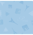 Texture france blue seamless vector
