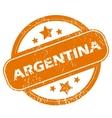 Argentina grunge icon vector