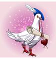 Love messenger vector