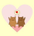 Lovely cats 1 vector