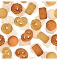 Danish butter cookies vector