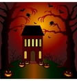 Helloween invitation and greeting card vector
