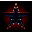 Blue star vector