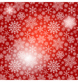 Seamless red christmas pattern vector
