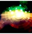 Abstract green lightning vector