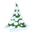 Cartoon nature tree fir vector