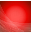 Red wave bright background template vector