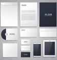 Set of corporate identity 2 vector
