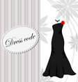 Elegant dress background vector