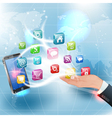 Applications for mobile platforms vector