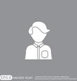 A male or female avatar man or woman avatar sign vector