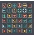 Set of icons web design elements vector