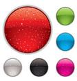 Gel buttons vector