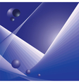 Abstract futuristic space vector