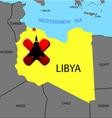 Prohibition of flights over libya vector