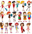 Working females vector