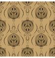 Seamless beautiful antique art deco pattern vector
