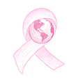 Breast cancer awareness ribbon world eps10 file vector