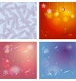 Abstract background card for merry christmas vector
