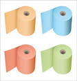 Toilet roll collection vector