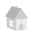Paper house vector