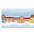 Town and village vector