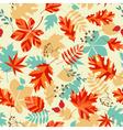 Bright autumn vector