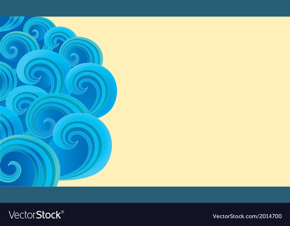 Background of ornate decorative spirals vector | Price: 1 Credit (USD $1)