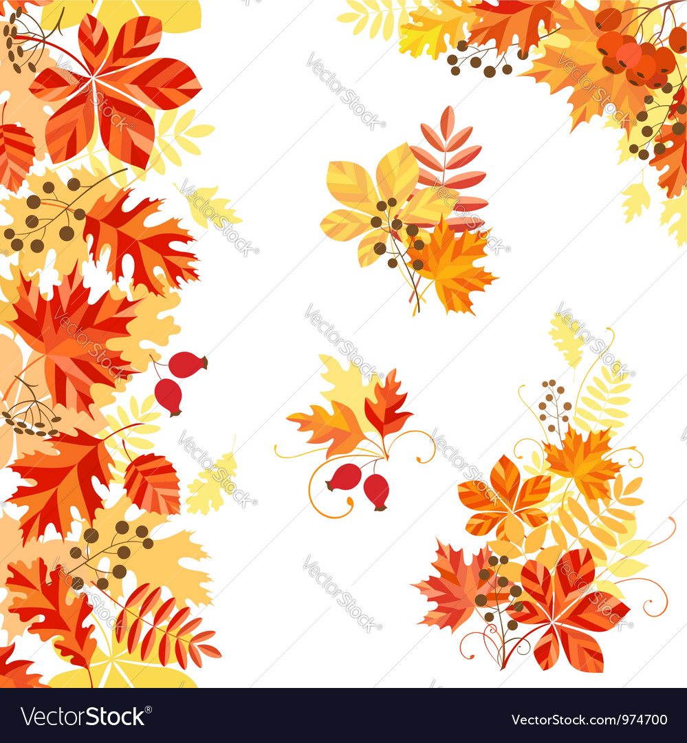 Bright autumn vector | Price: 1 Credit (USD $1)