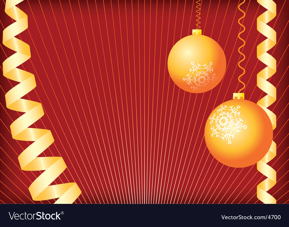Christmas background gold and red vector | Price: 1 Credit (USD $1)