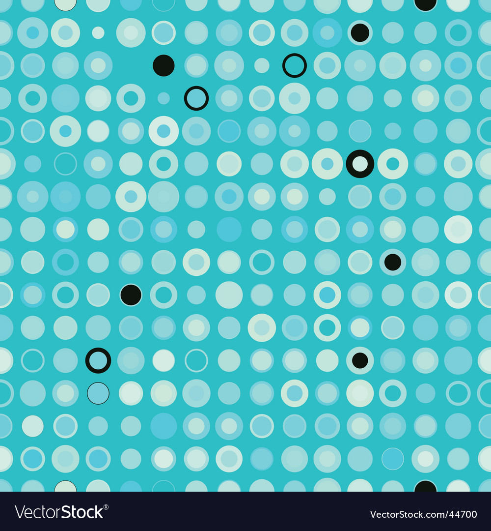 Pattern with circles vector