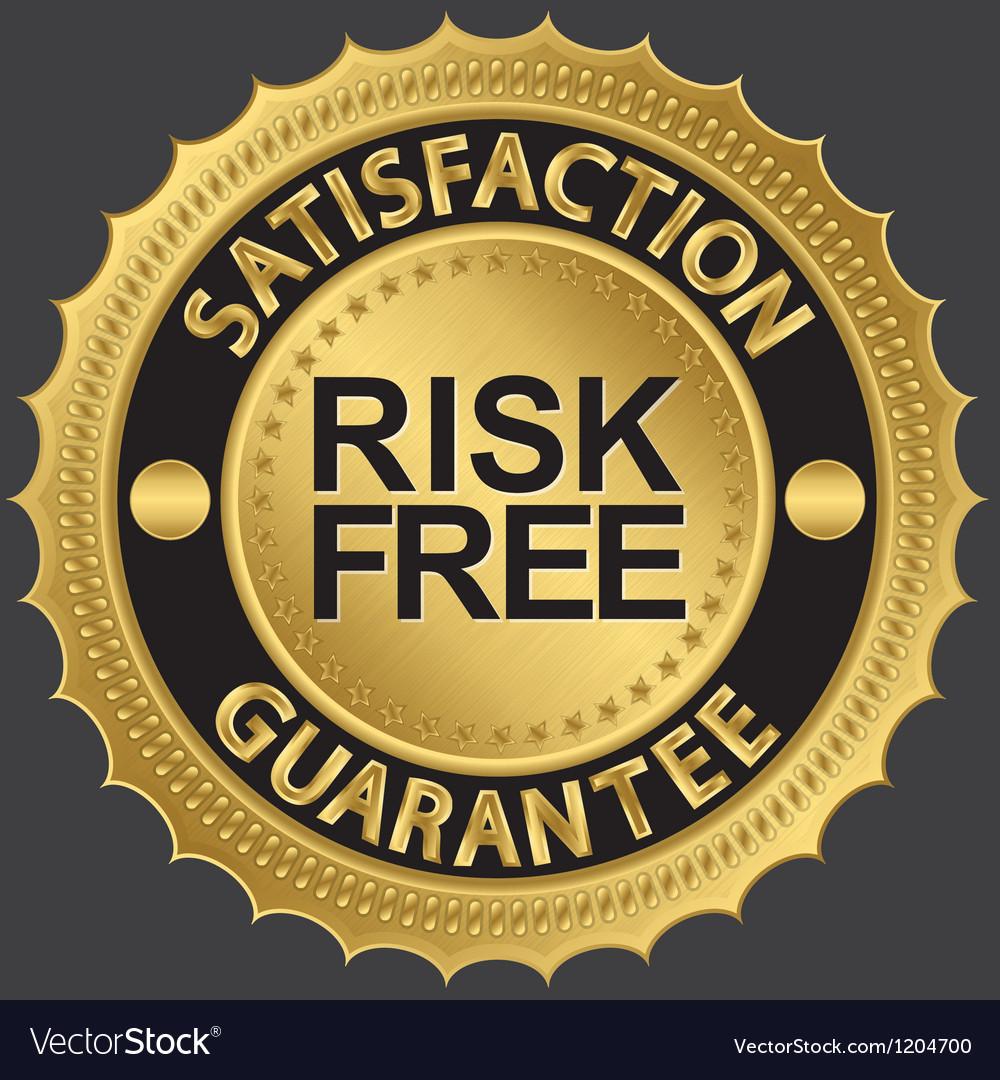 Risk free satifaction guarantee vector   Price: 1 Credit (USD $1)