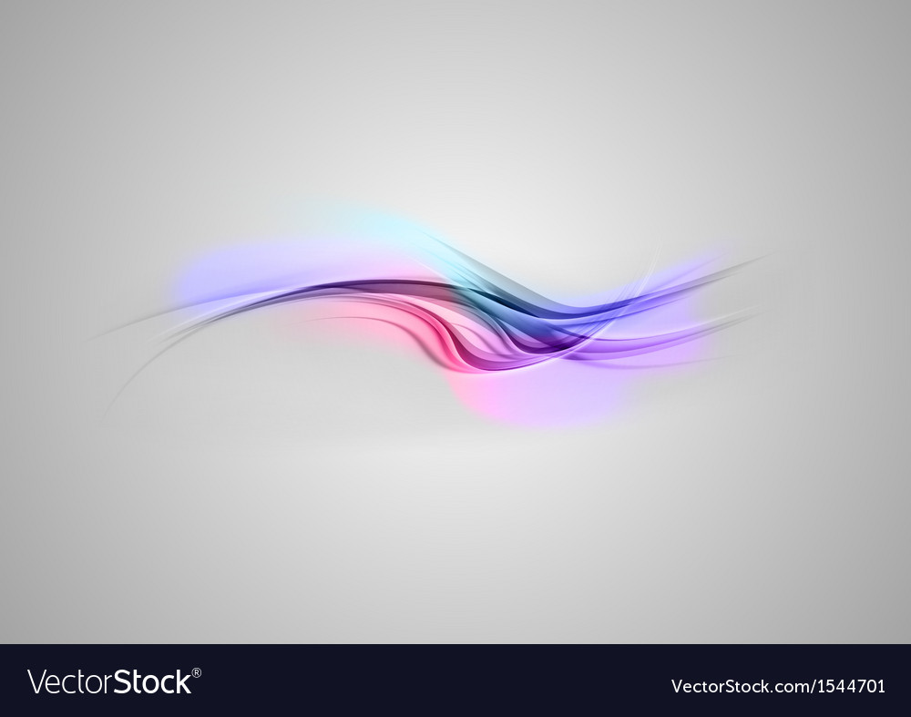 Abstract shape blue purple wave grey vector | Price: 1 Credit (USD $1)