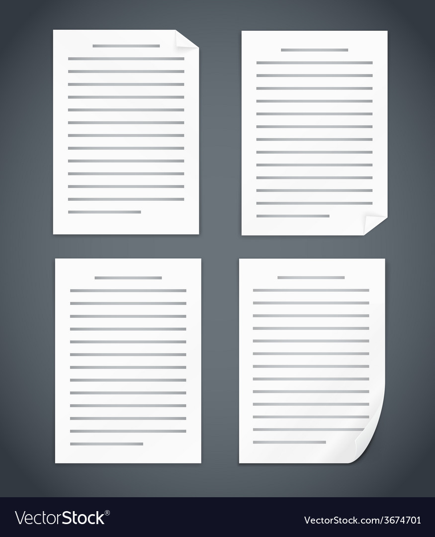 Document vector | Price: 1 Credit (USD $1)