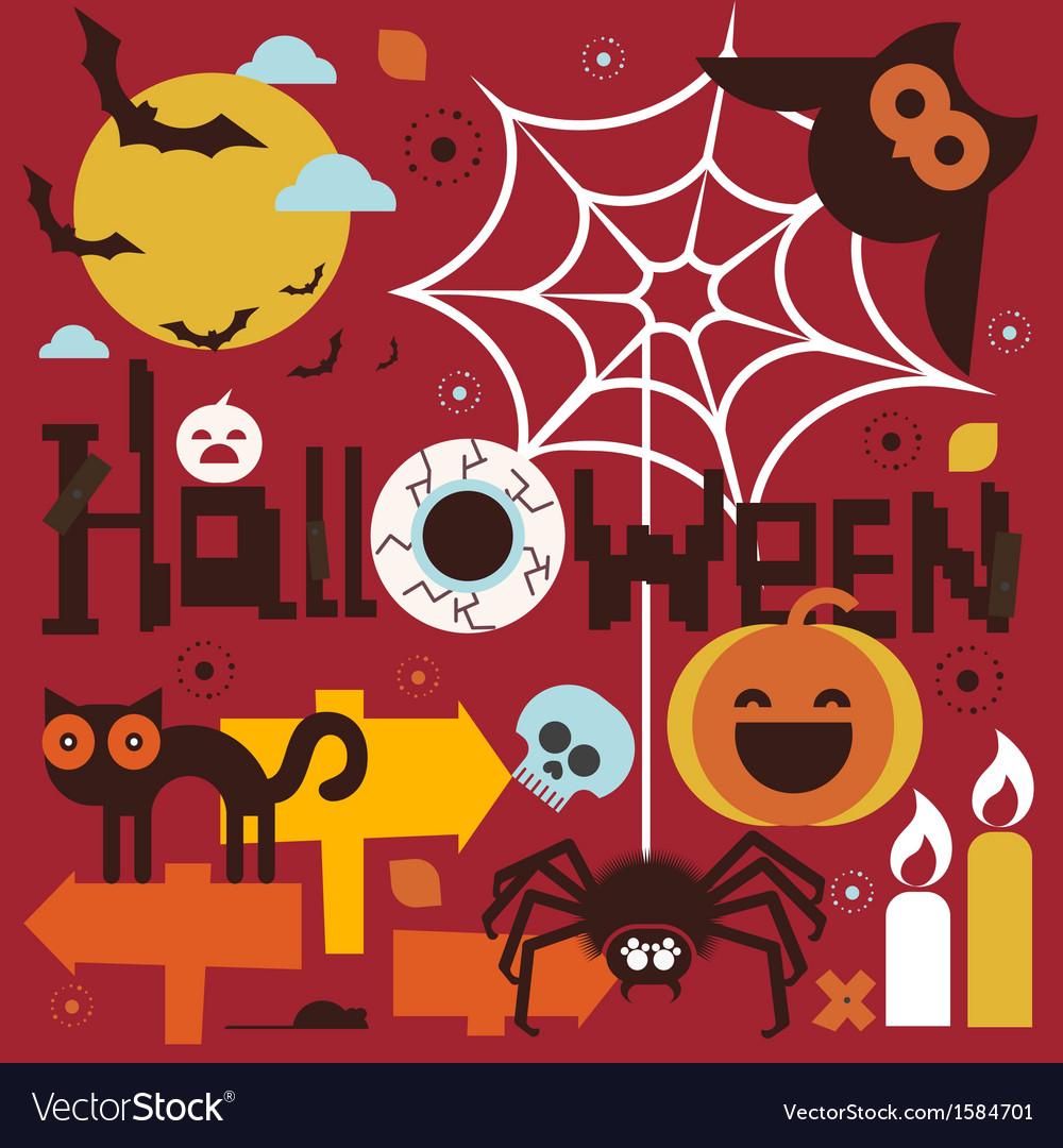 Halloween theme vector   Price: 1 Credit (USD $1)