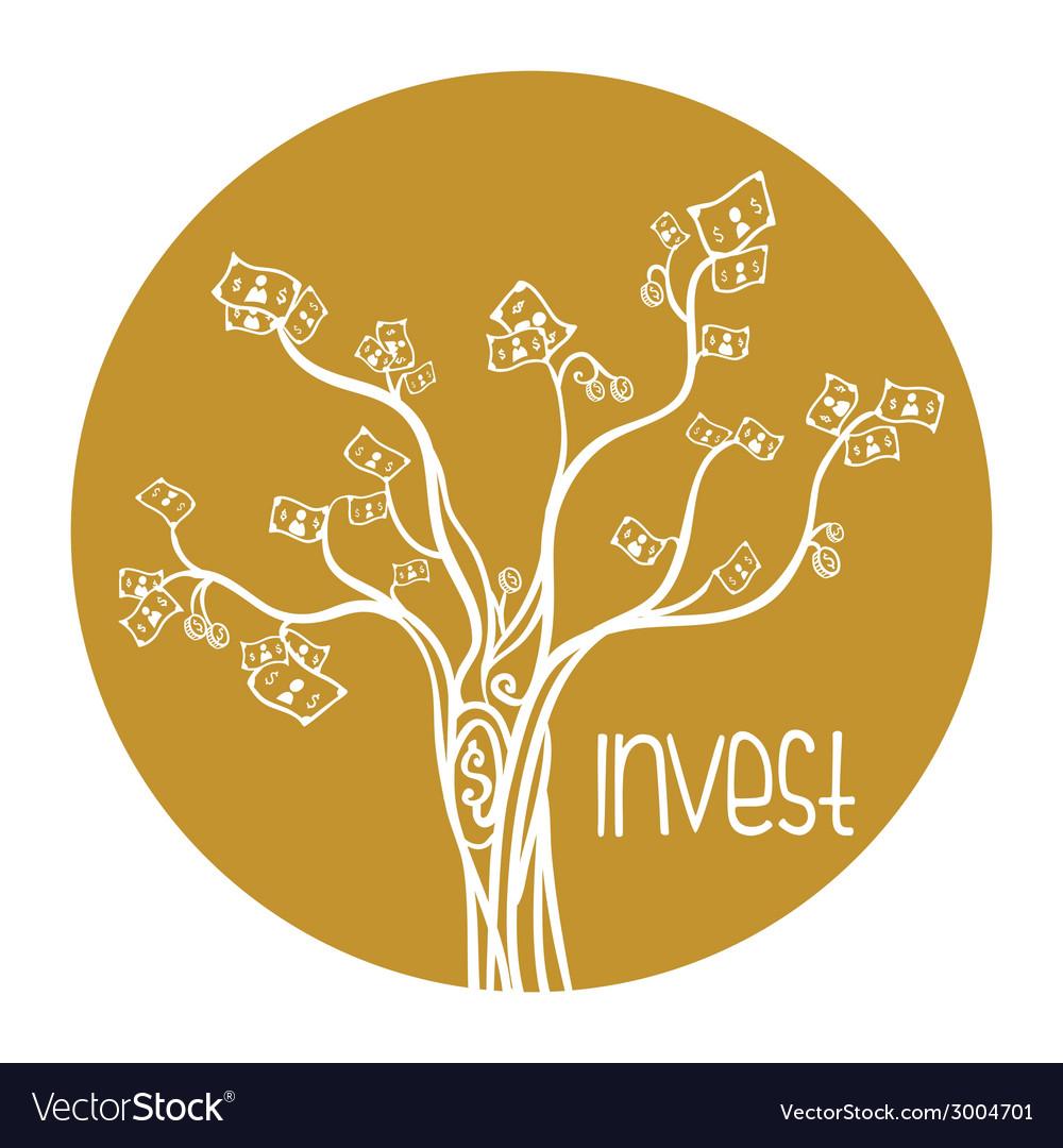 Investment design vector   Price: 1 Credit (USD $1)
