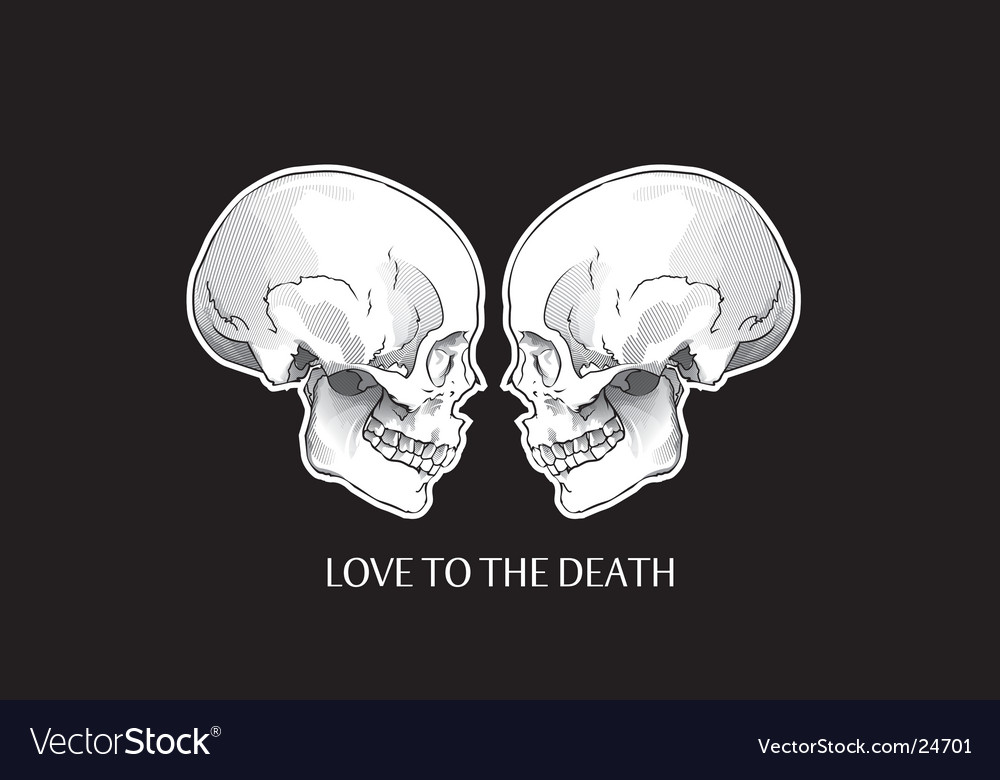 Skulls object vector | Price: 3 Credit (USD $3)