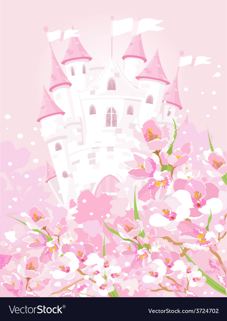Fairytale castle vector | Price: 3 Credit (USD $3)