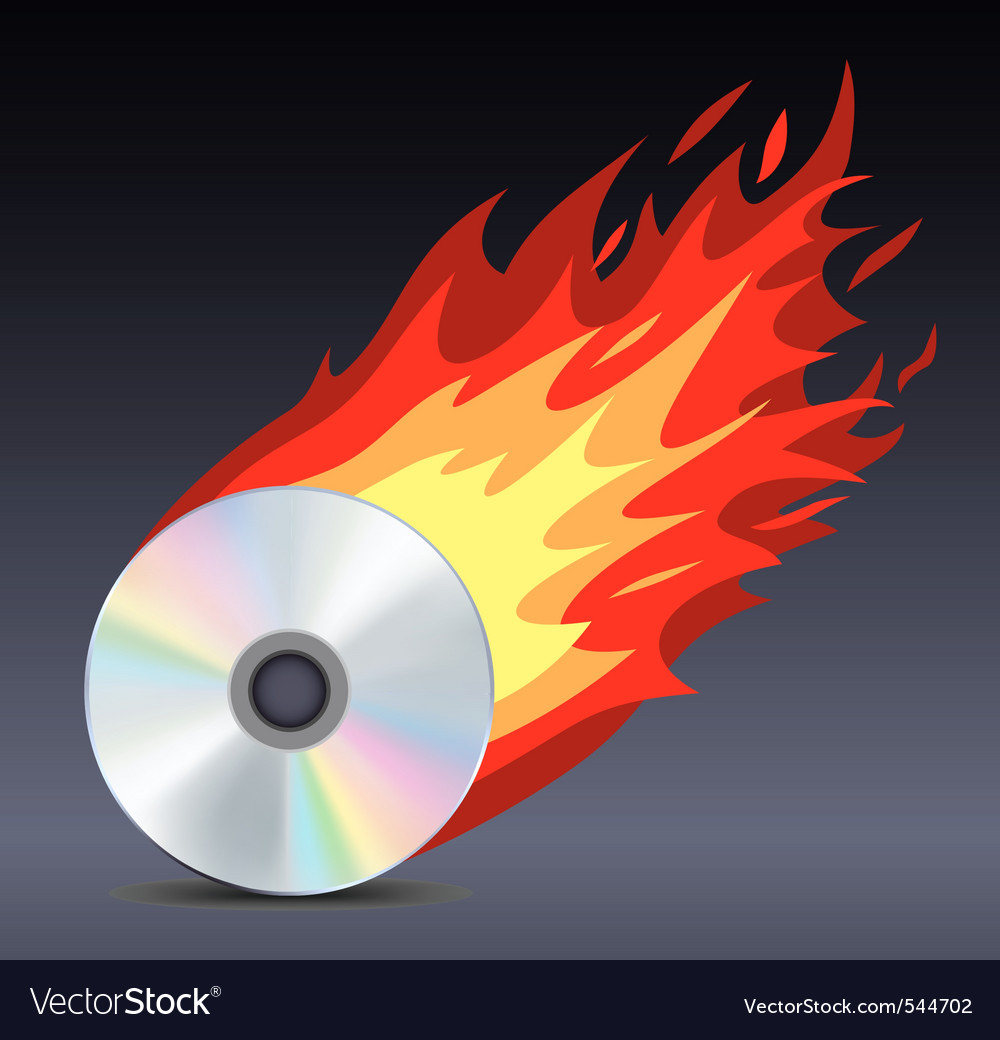 Hot disk vector | Price: 1 Credit (USD $1)