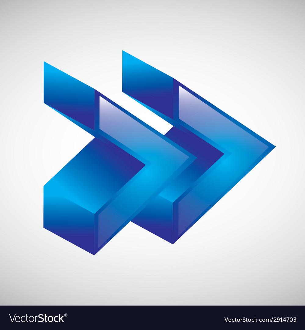Arrow design vector | Price: 1 Credit (USD $1)