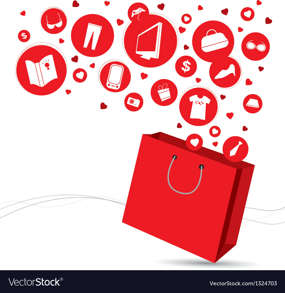 Shopping bag and fashion icon design vector | Price: 1 Credit (USD $1)