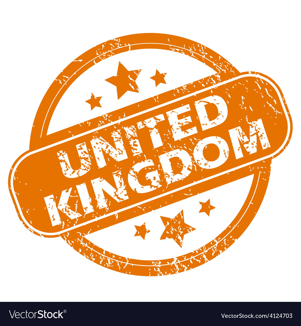 United kingdom grunge icon vector | Price: 1 Credit (USD $1)