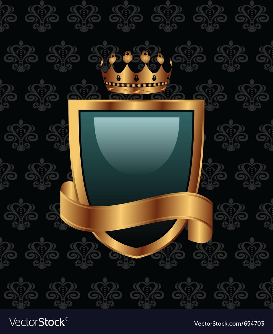 Vintage with heraldic elements - vector | Price: 1 Credit (USD $1)