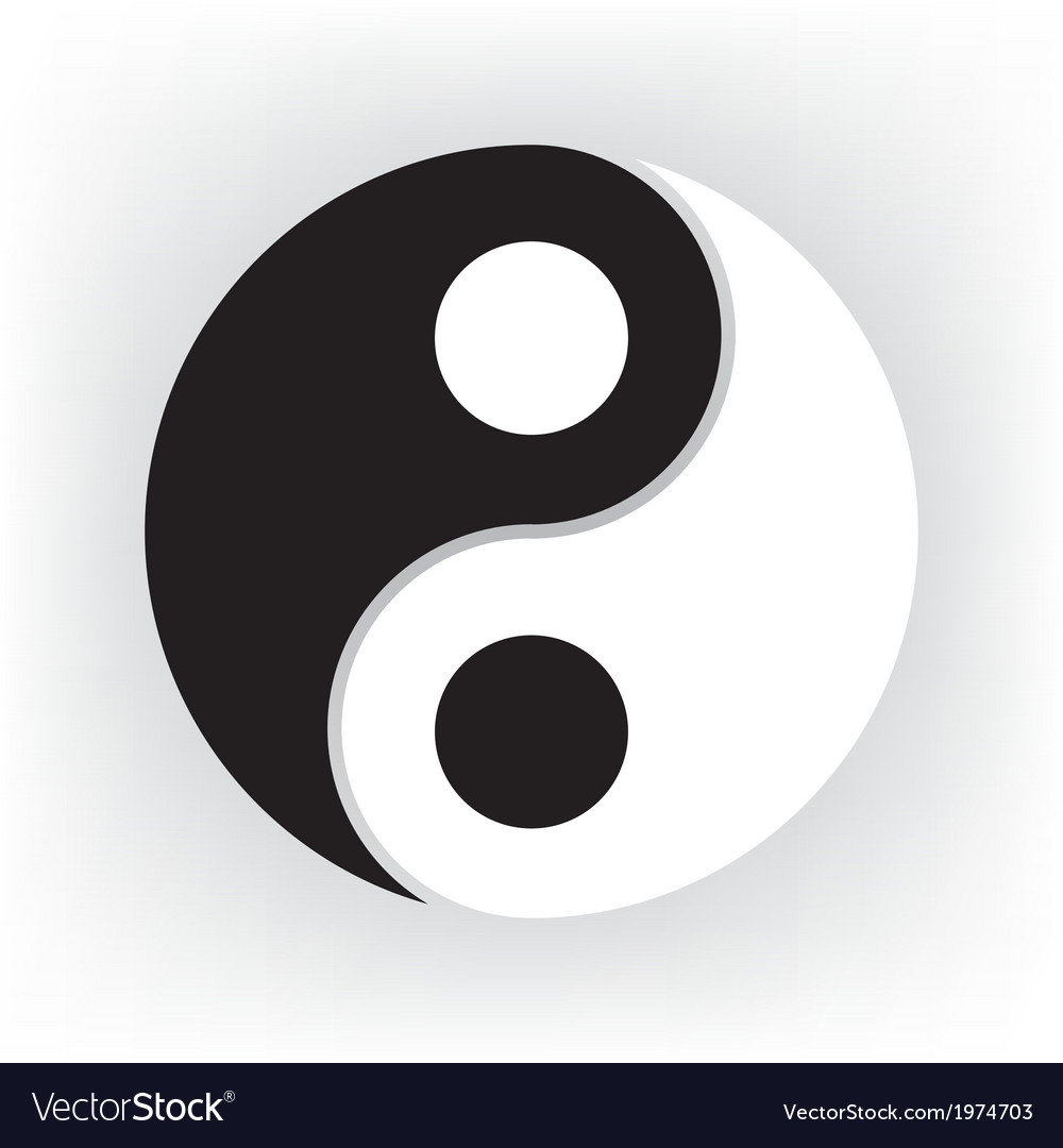 Yin yang vector | Price: 1 Credit (USD $1)