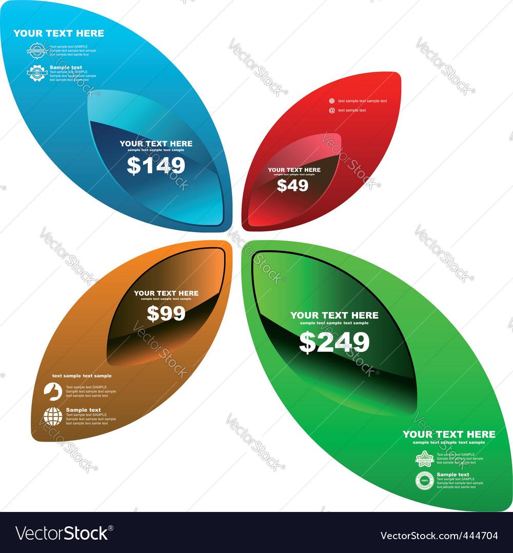 Design element set for sale vector | Price: 1 Credit (USD $1)