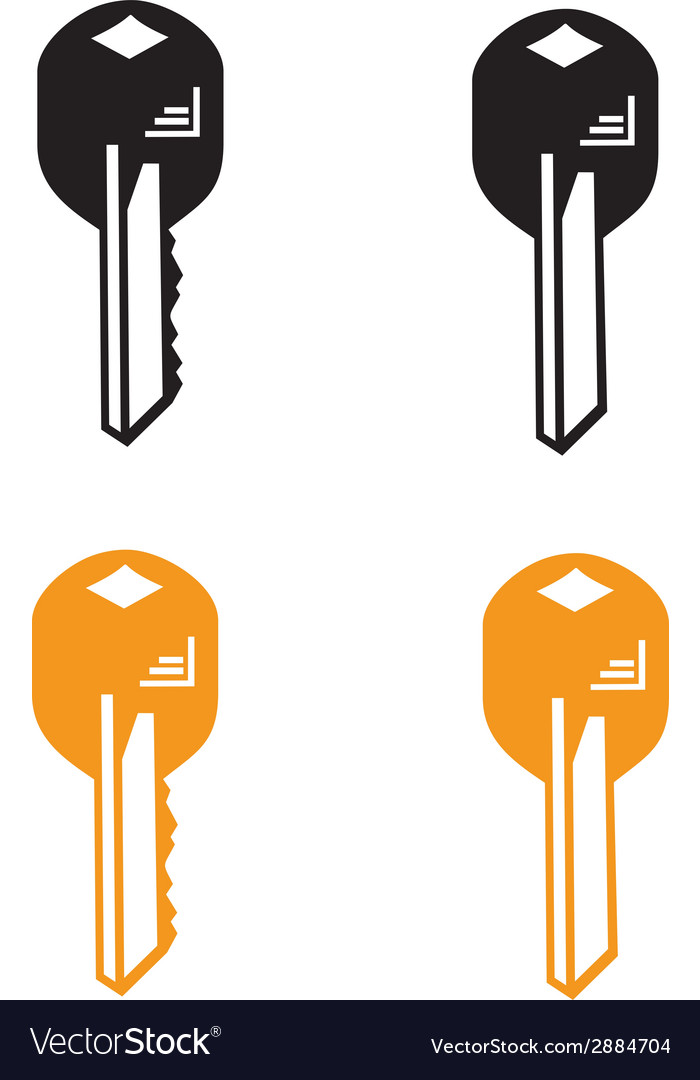 Key from home vector | Price: 1 Credit (USD $1)